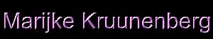 marijke kruunenberg