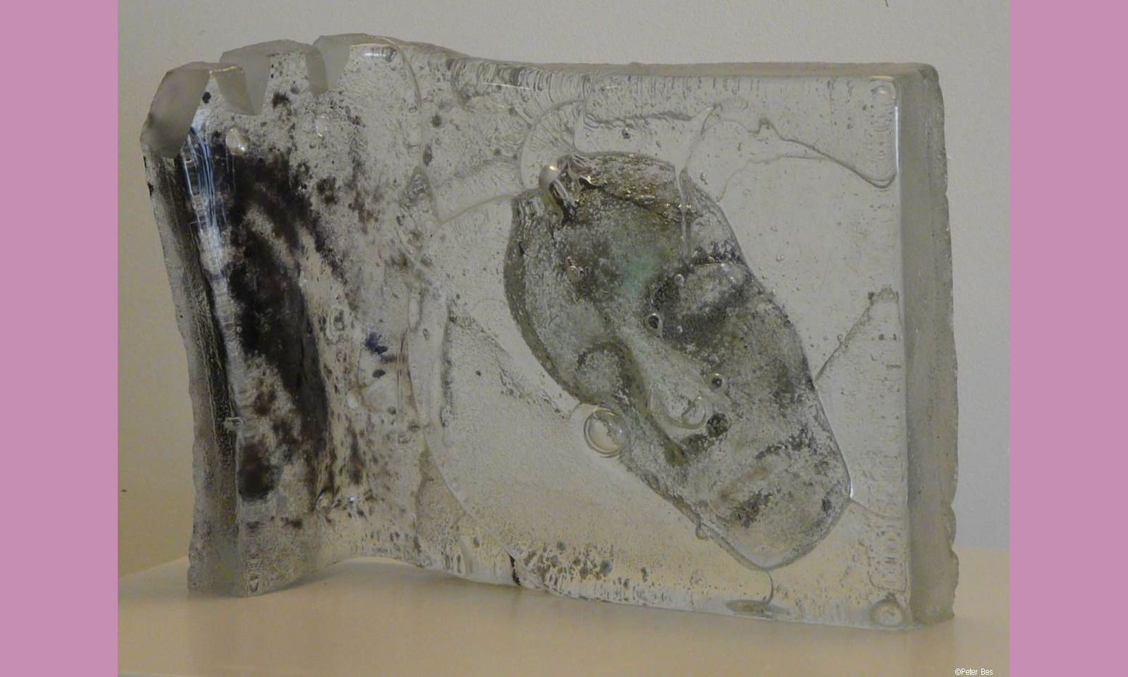 Peter Bes - Gegoten en geblazen glas 09