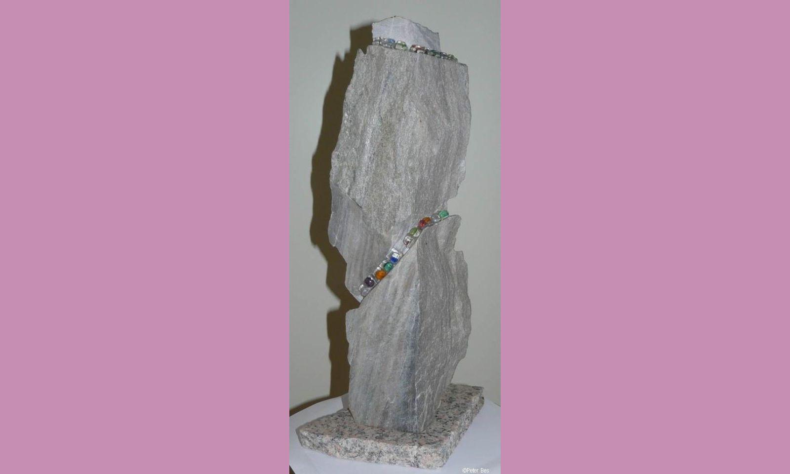Peter Bes - Glas en steen 11b